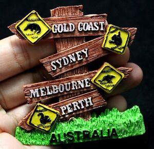 FRIDGE MAGNET Australia TOURIST PERTH Large
