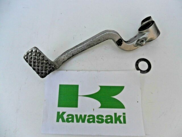 KAWASAKI ZX10 B ZX 10 B ZX1000 REAR BRAKE LEVER BACK BRAKE PEDAL 1988 - 1991