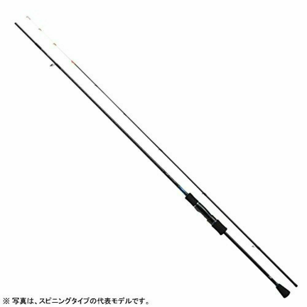 Daiwa squid metal asta Spinning emeraldas 76ULSS pesca Pole From Japan