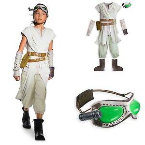 0fd93d2069ba4 Disney Store Star Wars Force Awakens REY Deluxe Girls Costume 7/8, 9 ...