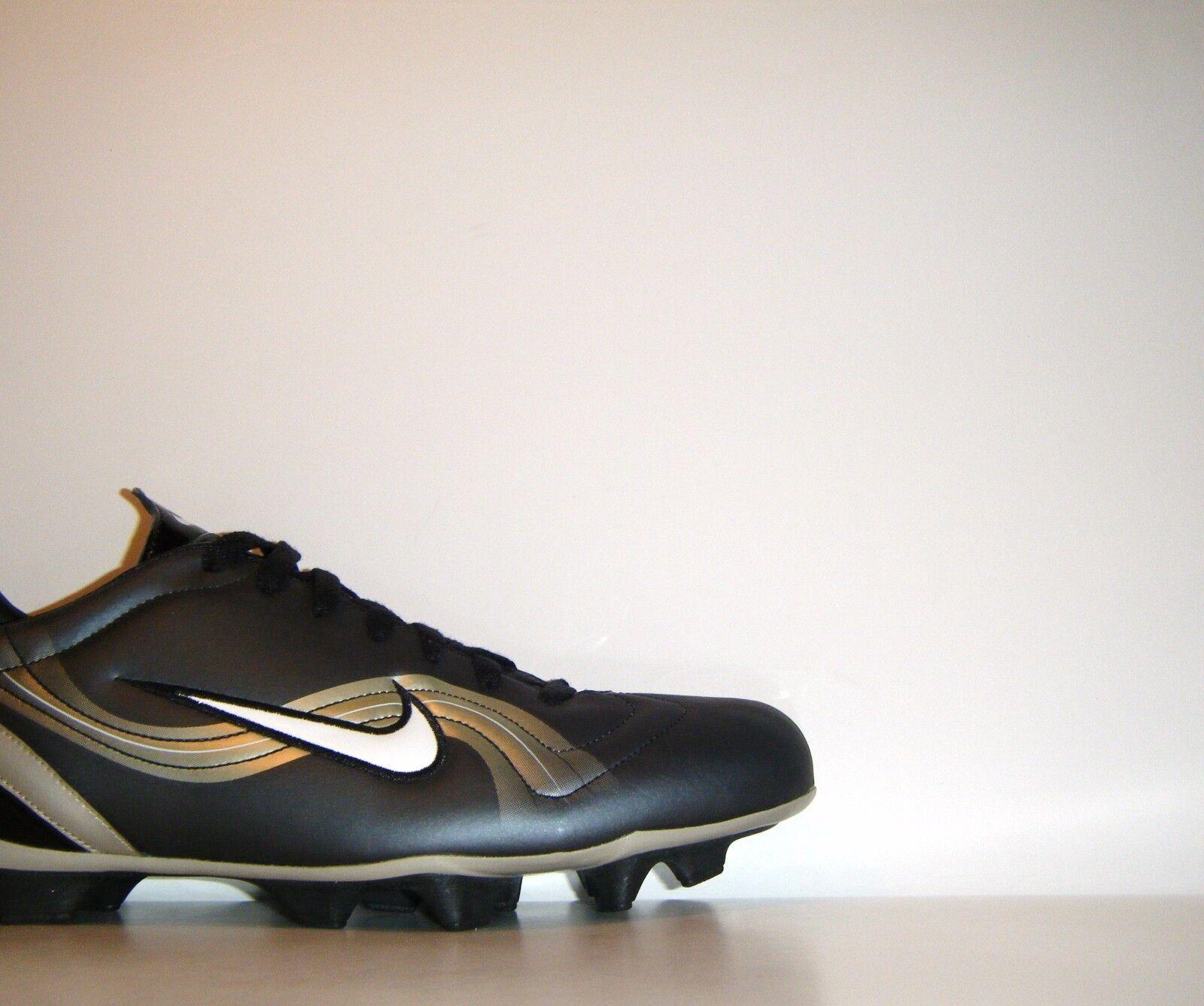 2002 Nike Mercurial Vapor I II FG Botines Talla 12 Negro oro Superfly III R9 CR7