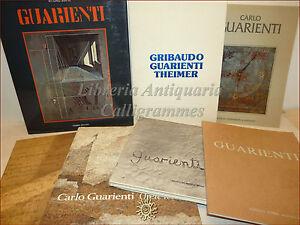 ARTE MODERNA collezione 7 opere CARLO GUARIENTI metafisica simbolismo De Chirico