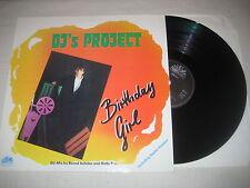 DJ's Project - Birthday girl   12'' Vinyl Maxi