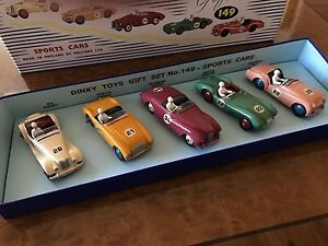 Vintage Dinky Toys / Mib Sport Voiture De Course Collection/ensemble Cadeau/