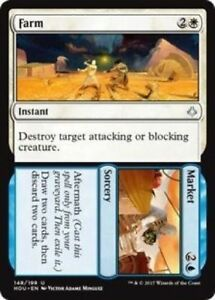 MTG-x2-Farm-Market-Hour-of-Devastation-Uncommon-Instant-Sorcery-NM-M-SKU-114