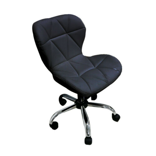 Faux Leather Office Swivel Computer Chair Height Adjustable Wheels Home Salon