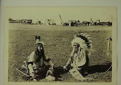 Antique Original Native American Indian Photograph c1930