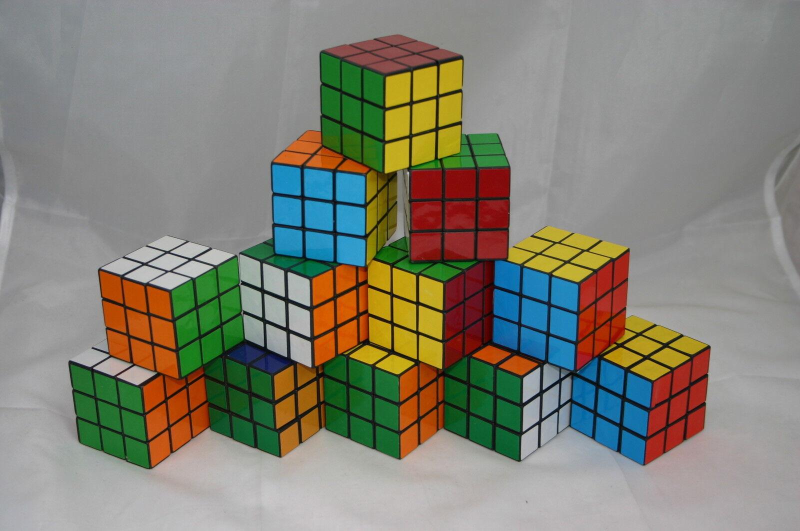 720x Zauberwürfel Magic Cube Zauber Würfel 5,5x5,5x5,5 cm 80er Jahre Kult