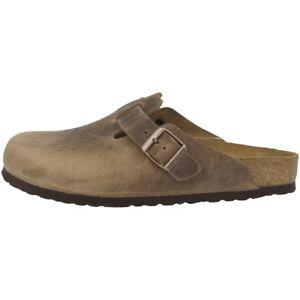 Clogs Zu Normal Boston Weite Schuhe Nubukleder Details 960811 Clog Birkenstock Pantolette IYf7v6gyb