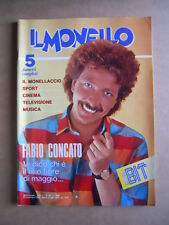 IL MONELLO n°45 1984 Lory Del Santo Sade Sylvie Vartan Rossana Casale  [G433]