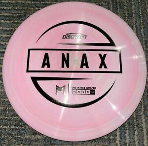 DISCRAFT ESP SWIRLY ANAX 5X PAUL MCBETH DISC GOLF DRIVER PK/PK 173-4G @ LSDISCS