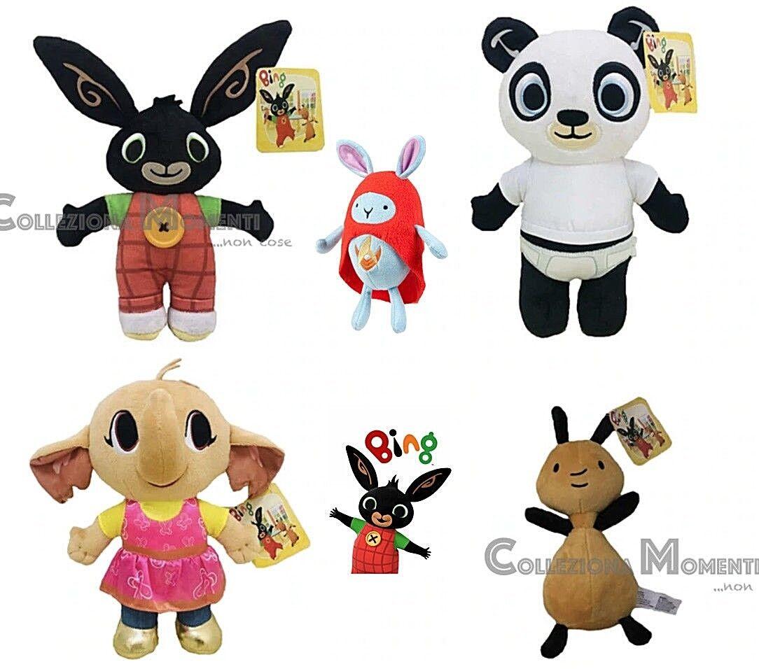 Bing Peluche Coniglietto Cartone Animato Coniglio Rabbit Plush Toy Bunny
