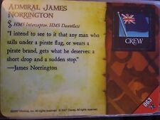 Wizkids Pirates of the Caribbean #063 Admiral James Norrington Pocketmodel CSG