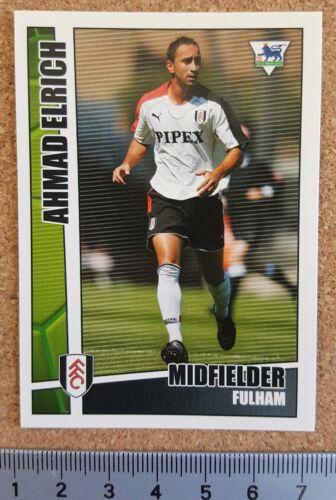 MERLIN PREMIER LEAGUE Stars unique 2005-06 Football Cartes Fulham-divers