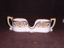 RARE Vintage Morimura Noritake #175 Christmas Ball Gold Spoon Holder