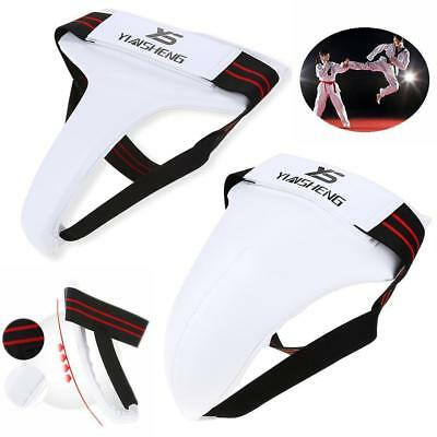 Men/'s Taekwondo Groin Guard Crotch Protector Boxing Training Karate Jockstrap