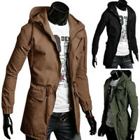 Casual Thermal Mens Slim Fits Cool Hooded Coat Outerwear Hoodies Jackets Blazers
