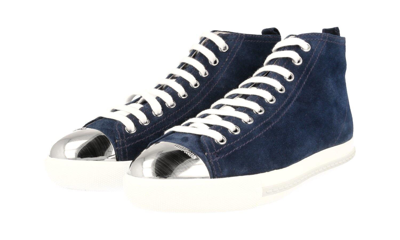 shoes MIU MIU LUXUEUX 5T9556 blue NOUVEAUX 37 37,5