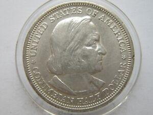 1893 50c World's Columbian Exposition Commemorative Silver Half Dollar