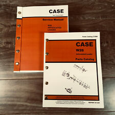 Case W26 Articulated Wheel Loader Service And Parts Catalog Manuals Repair Shop