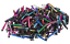 Lots of 100X Colorful Mini Baseball Stylus Torch Pen For Capacitive Screen USA