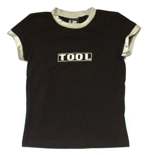 TOOL Classic Logo Girls Juniors Black Fashion Shirt New Official Band Giant