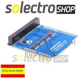 Adaptador  TFT LCD 2.4 shield UNO R3 expansion board SD Adapter Arduino P0004