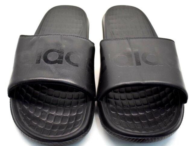82bcc418d Adidas Voloomix Slides B36048 Black US Size 6 - FREE SHIPPING - BRAND NEW