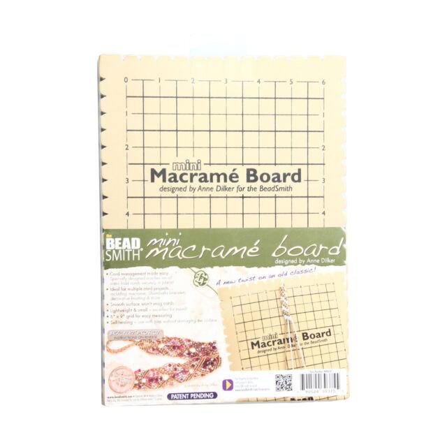 9 x 6 Inches Mini MWB10 Macrame Board 2-Pack