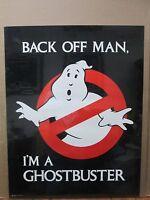 Vintage 1984 Back Off Man, Ghostbuster Poster Movie 12403
