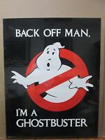 Vintage 1984 Back Off Man, Ghostbuster Poster Movie 12403