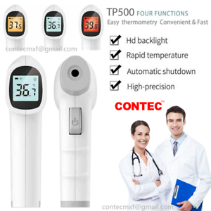 Non-Contact Infrared Thermometer Body Forehead Ear Thermometry Temperature Gun