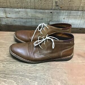 mens 11 tan leather chukka ankle boots