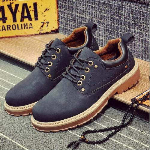 New Men/'s England tooling shoes Lace Casual Shoes Recreational Shoes copyright