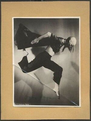"""Theater Considerate R Photo Elsa Hope Germany Dancer Orig Signed 6"""" X 4 1/2"""" Pleasant In After-Taste"""