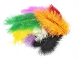 Marabufedern-zur-Deko-Federn-marabou-feathers-17-Stueck-bunt-sortiert-Meyco-24013