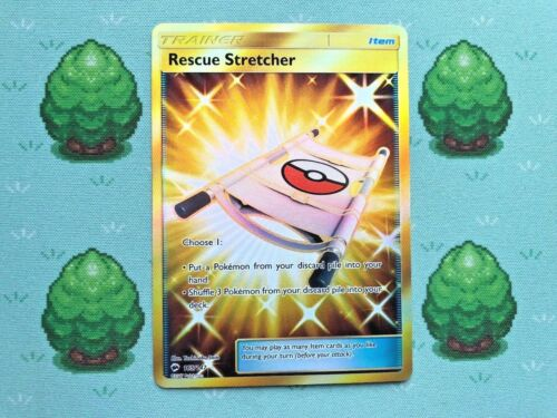 Rescue Stretcher Pokemon SM Burning Shadows 165//147 Secret Rare