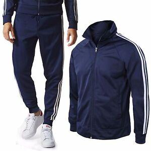 Tuta-Uomo-Maglia-e-Pantaloni-Basic-Acetato-Sport-Fitness-Casual-GIROGAMA-6393T