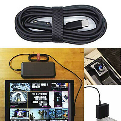 new usb c typec pd charger adapter cable for microsoft surface pro 6 5 4 3 book ebay