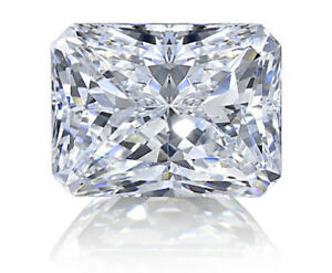 b2ccf6aae1711 Details about 4 ct Radiant Emerald Cut Vintage Top Russian Quality CZ  Moissanite Simulant 11x9
