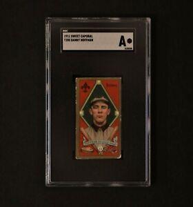 1911 Sweet Caporal Gold Border T205 Danny Hoffman SGC Authentic