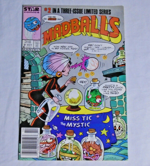 Madballs 2 Oct 1986 Marvel For Sale Online Ebay