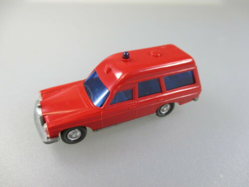 mercedes Benz 200//8 bomberos coches 24 rojo Wiking