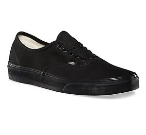 Black Classic Skate Shoes Womens Sizes