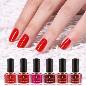 BORN-PRETTY-6ml-Red-Nail-Polish-Peel-Off-Nail-Varnish-Long-Lasting-Tips