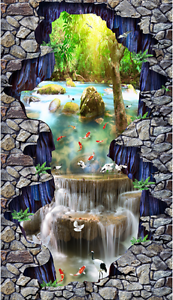 3D Sunny Río grúa 84 Papel de parojo de Piso Impresión De Parojo Murales AJ Wallpaper Reino Unido Limón