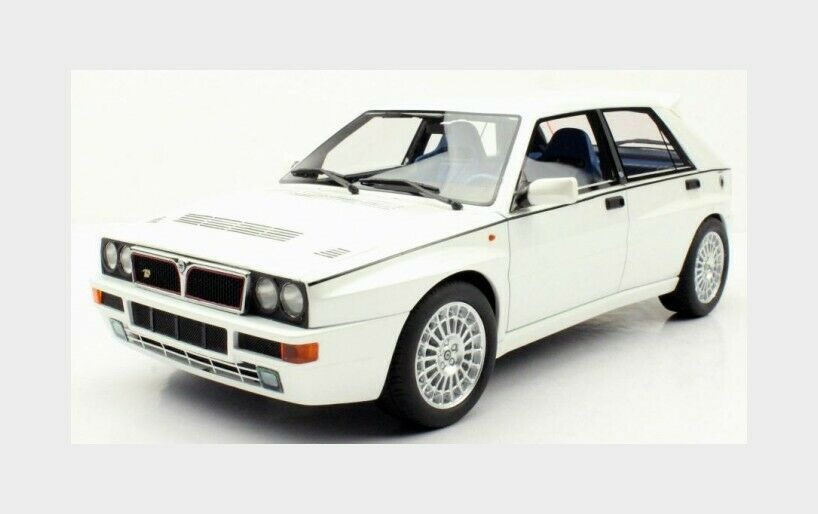 Lancia Delta Integrale Evo2 Edition Weiß 1994 LS-COLLECTIBLES  1 18 LS034H