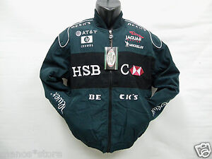 938c804d35ac9d Image is loading JAGUAR-F1-Race-jacket-Embroidered-Formula-one-Racing-