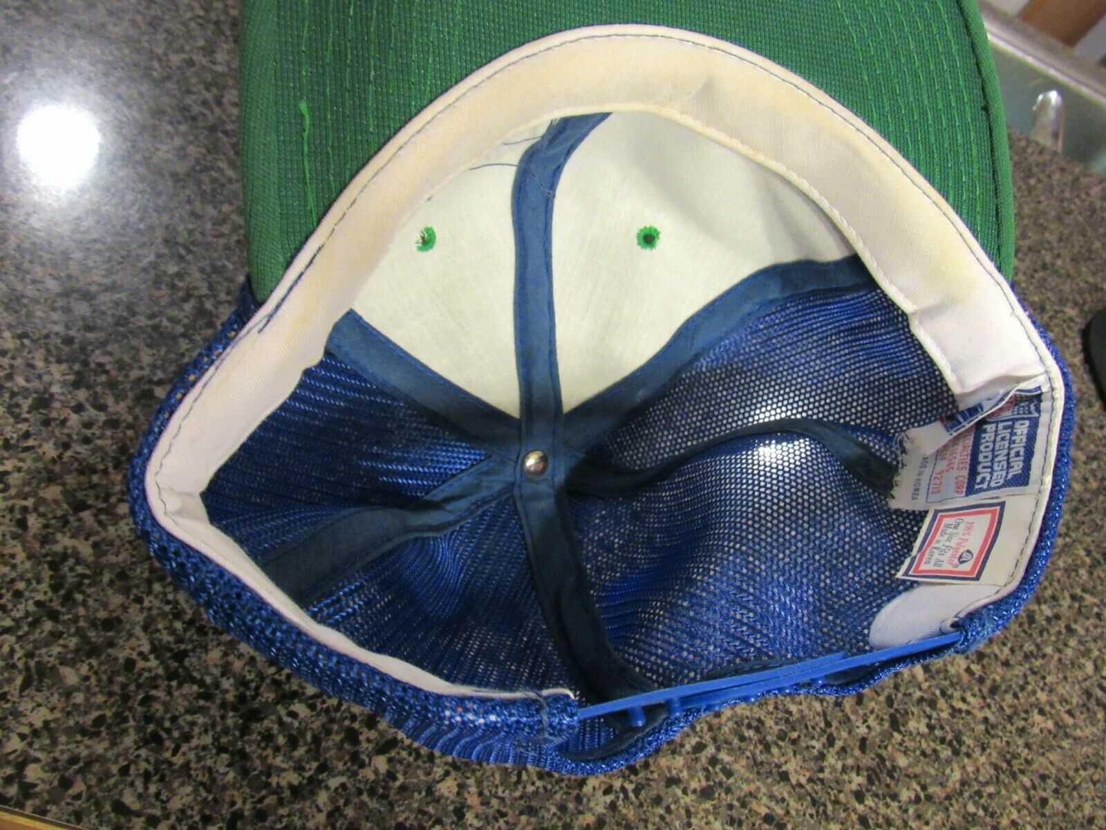 Vintage Seattle Seahawks Snapback hat Sports Spec… - image 3