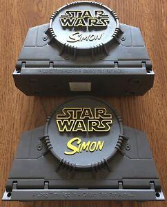 Star Wars Simon Game Hasbro 1999 (2), Episode 1 Lucasfilms Simon Says w/ Manuals